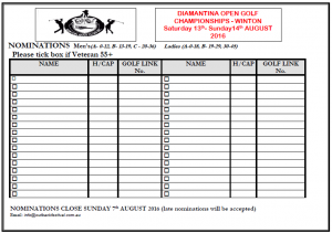 WGC - Open Nomination Form (August 2016)