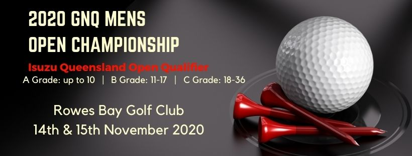 News Flash -  GNQ will hold their MENS Open Championships on 14-15 November 2020