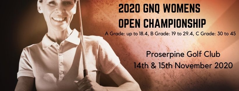 News Flash -  GNQ will hold their WOMENS Open Championships on 14-15 November 2020
